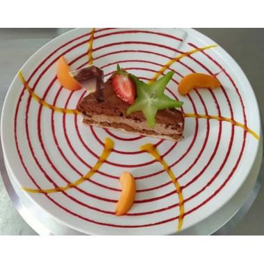 DESSERT : Croquant chocolat Framboise